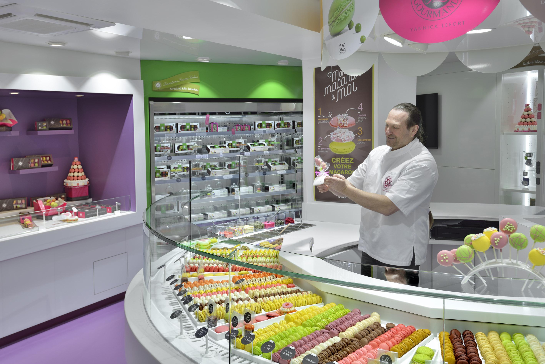 la boutique macarons