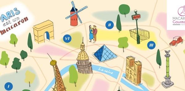 PARIS EST UN MACARON