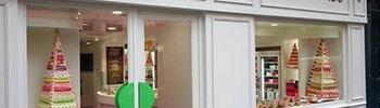 La première boutique Macarons Gourmands Yannick Lefort